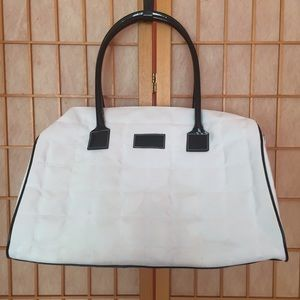 Givenchi / Parfums White Travel Duffle Bag